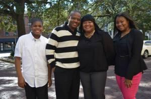Lisa Carter and Family