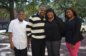 Lisa Carter and Family