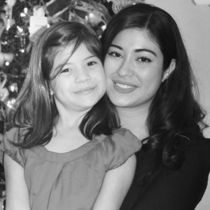 Natasha with her daughter Nelly